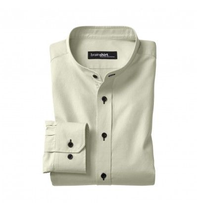 "Camicia Regular in Cotone Biologico ""Elverum Cut"""